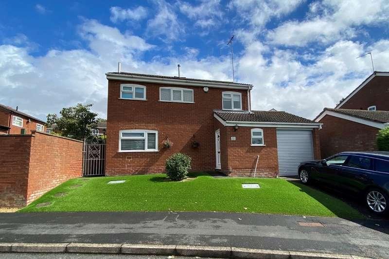 3 Bedrooms Detached House for sale in Kipling Drive, Melton Mowbray