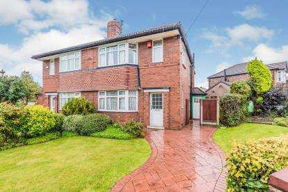 3 Bedrooms Semi Detached House for sale in Mellington Avenue, Didsbury, Manchester, Gtr Manchester