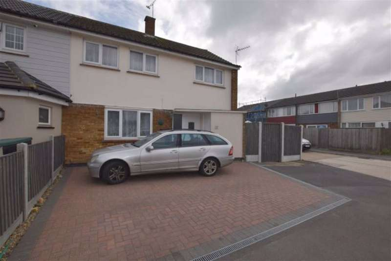 3 Bedrooms End Of Terrace House for sale in Clarendon Road, Basildon, Essex