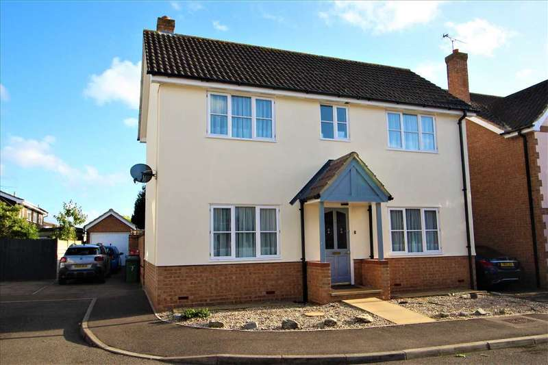 3 Bedrooms Detached House for sale in Crouchman Close