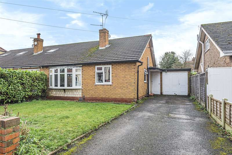 2 Bedrooms Semi Detached Bungalow for sale in Parkfield Road, Stourbridge, West Midlands, DY8