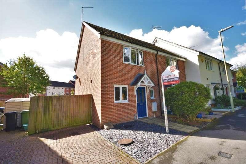 2 Bedrooms End Of Terrace House for sale in Skippetts Gardens, Basingstoke, RG21