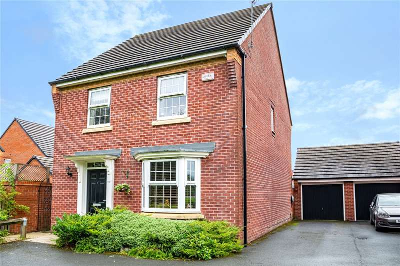 4 Bedrooms Detached House for sale in Cook Road, Kingsway, Rochdale, Greater Manchester, OL16