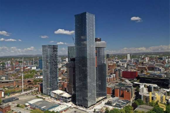 2 Bedrooms Property for sale in South Tower, Manchester
