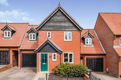 3 Bedrooms Link Detached House for sale in Easton, Norwich, Norfolk
