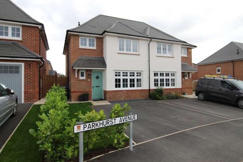 3 Bedrooms Semi Detached House for sale in Parkhurst Avenue, Leyland, Lancashire, PR25