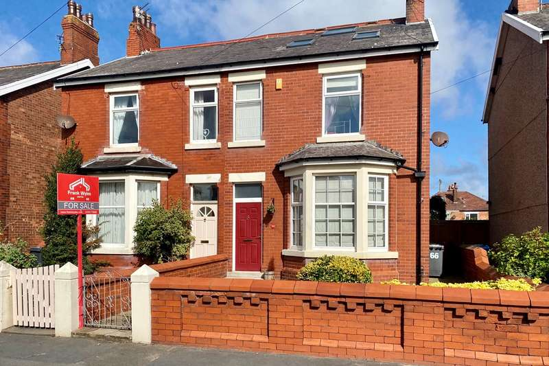 4 Bedrooms Semi Detached House for sale in Highbury Road East, Lytham St Annes, FY8