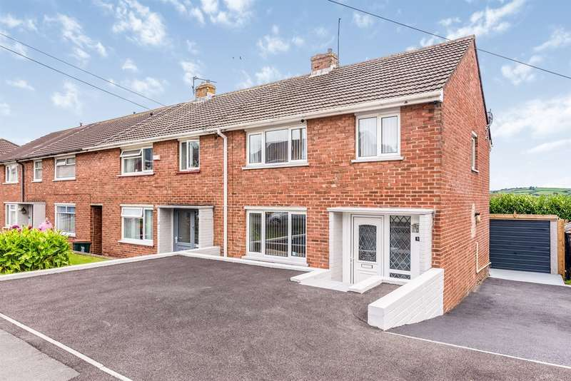 3 Bedrooms End Of Terrace House for sale in Greenfield Road, Rogerstone, Newport