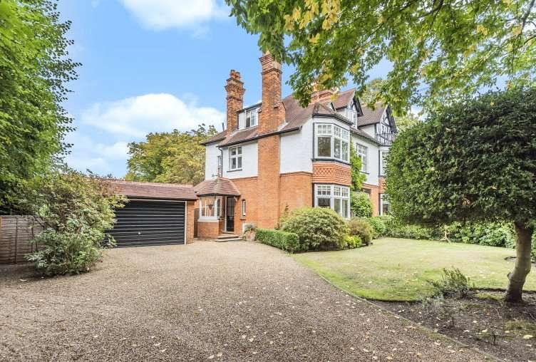 5 Bedrooms Semi Detached House for sale in Upper Park Road, Camberley, Surrey, GU15