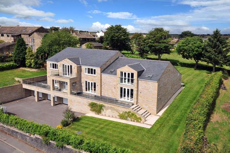 5 Bedrooms Detached House for sale in Church Lane, South Crosland, Huddersfield