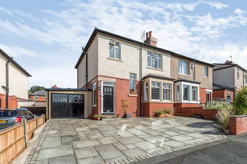 3 Bedrooms Semi Detached House for sale in Parkside Avenue, Chorley, Lancashire, PR7