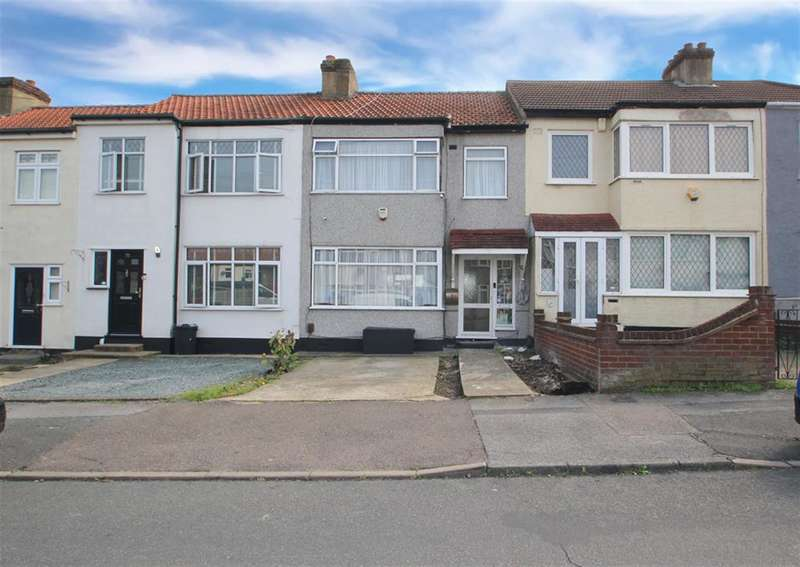 3 Bedrooms Terraced House for sale in Gelsthorpe Road, Romford, RM5 2LX