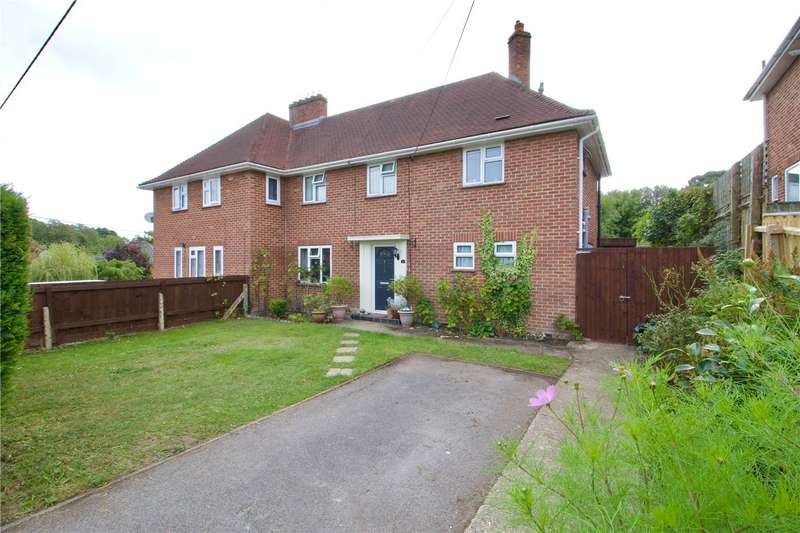 3 Bedrooms Semi Detached House for sale in Setthorns Road, Sway, Lymington, Hampshire, SO41