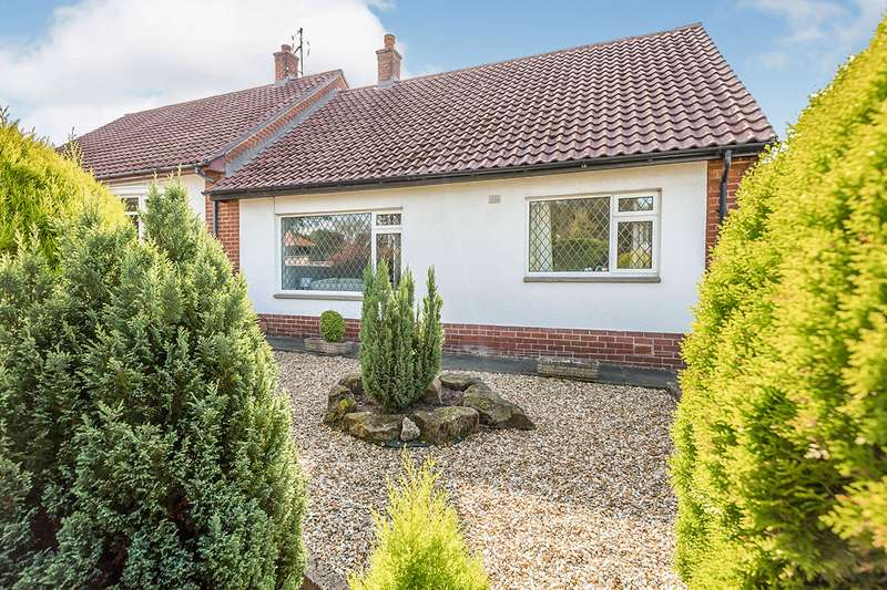 3 Bedrooms Semi Detached Bungalow for sale in Walgarth Drive, Chorley, Lancashire, PR7