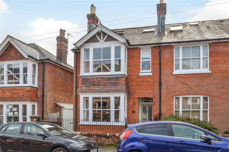 4 Bedrooms Semi Detached House for sale in Hatherley Road, Fulflood, Winchester, SO22