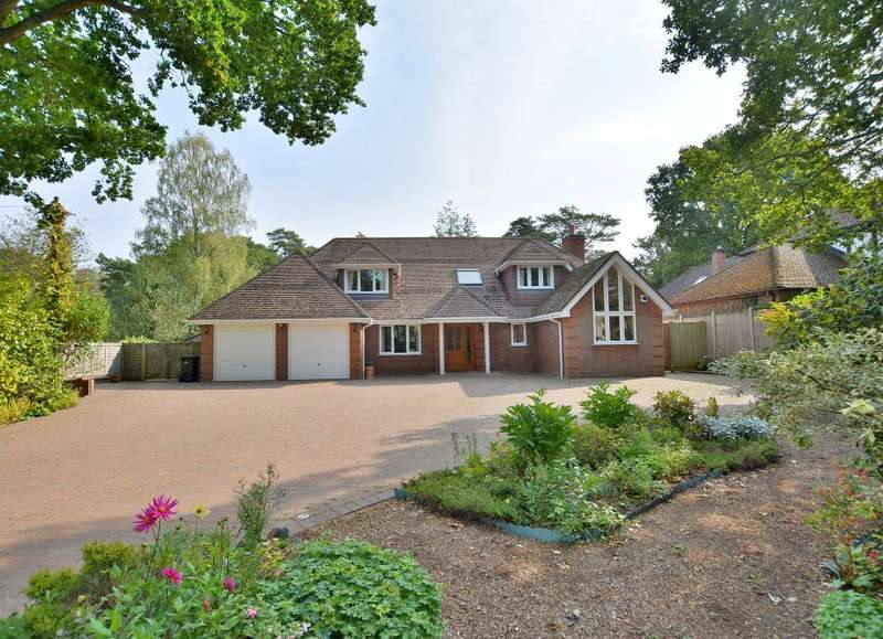 4 Bedrooms Detached House for sale in Dudsbury Avenue, Ferndown, Dorset, BH22 8DU
