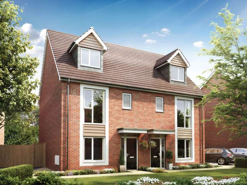 4 Bedrooms Semi Detached House for sale in Tayleur Leas Development, Newton-Le-Willows, Warrington, WA12