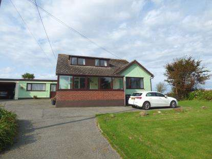 4 Bedrooms Link Detached House for sale in Llanrhyddlad, Holyhead, Sir Ynys Mon, LL65