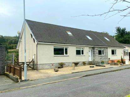 5 Bedrooms Semi Detached House for sale in Murray Crescent, Lamlash
