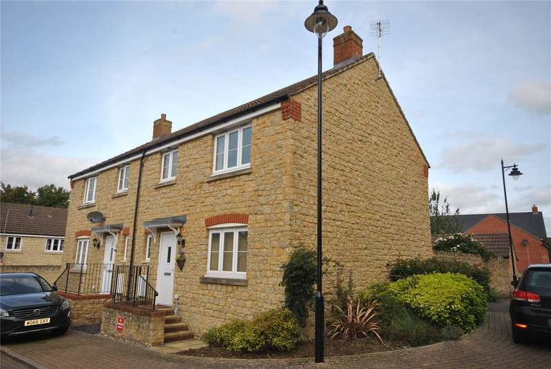 3 Bedrooms Semi Detached House for sale in Old Tannery Way, Milborne Port, Sherborne, Somerset, DT9