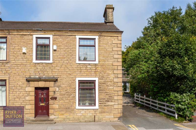 3 Bedrooms Semi Detached House for sale in Huddersfield Road, Waterhead, Oldham, Greater Manchester, OL4