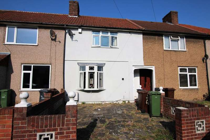 2 Bedrooms Terraced House for sale in Rowlands Road, Dagenham, Essex, RM8 3DX