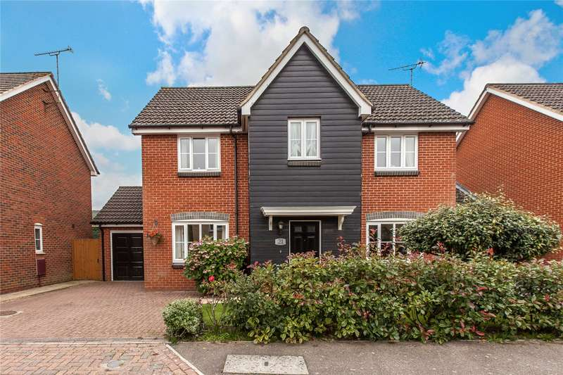 4 Bedrooms Detached House for sale in Riggall Court, Cuxton, Cuxton Station, ME2