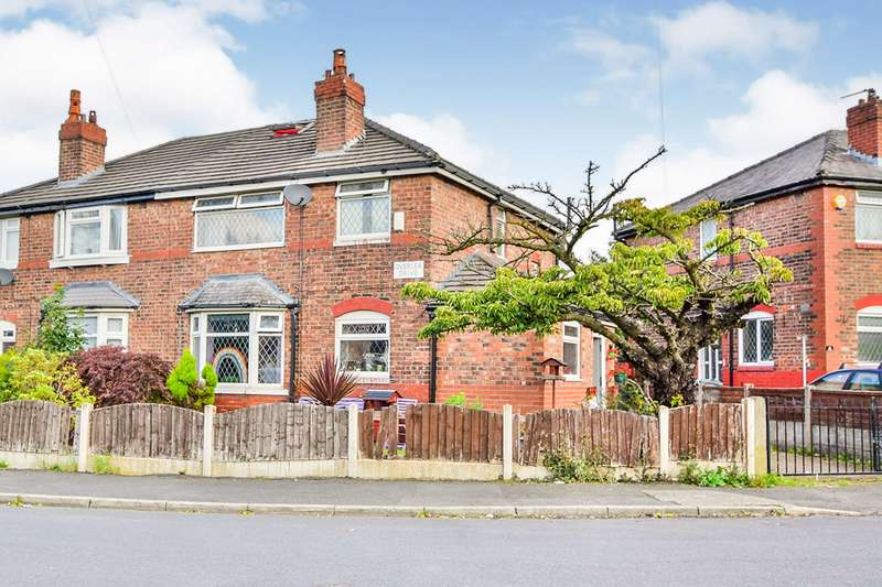 3 Bedrooms Semi Detached House for sale in Overlea Drive, Manchester, Greater Manchester, M19
