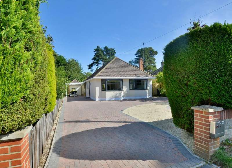 4 Bedrooms Detached Bungalow for sale in Ameysford Road, Ferndown, Dorset, BH22 9QE