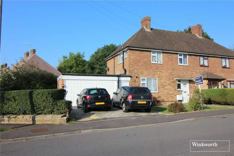 3 Bedrooms Semi Detached House for sale in Oddesey Road, Borehamwood, Hertfordshire, WD6