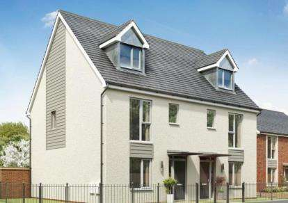 4 Bedrooms Semi Detached House for sale in Weogoran Park, Whittington Road, Worcester