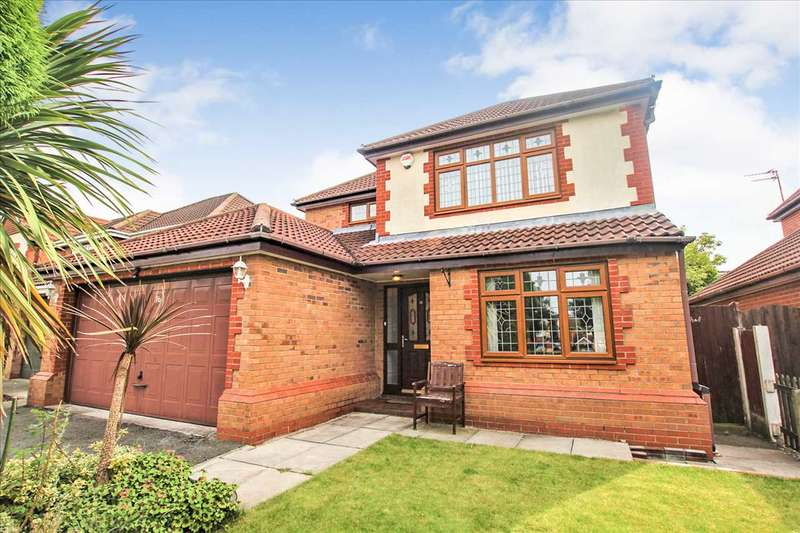 4 Bedrooms Detached House for sale in Fenwick Close, Westhoughton, Westhoughton