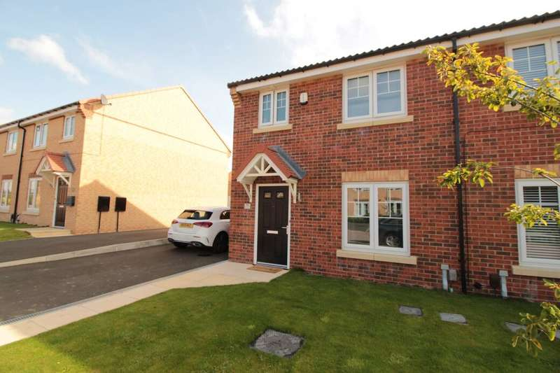 3 Bedrooms Semi Detached House for sale in Dyce Close, Eaglescliffe, TS16