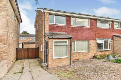 3 Bedrooms Semi Detached House for sale in Arundel Close, Dronfield Woodhouse, Dronfield, Derbyshire