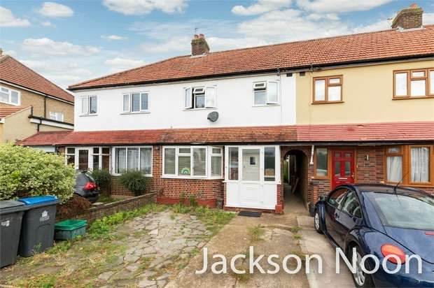 3 Bedrooms Terraced House for sale in Compton Crescent, Chessington