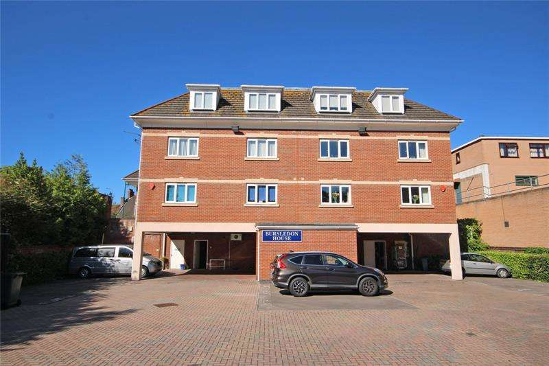 2 Bedrooms Apartment Flat for sale in Bursledon House, Station Road, New Milton, Hampshire, BH25