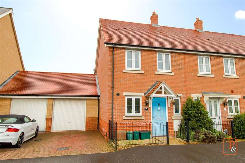 2 Bedrooms Semi Detached House for sale in Barside Terrace, Layer Road, Colchester