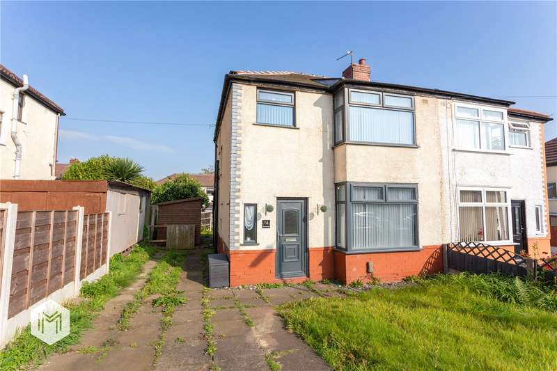 3 Bedrooms Semi Detached House for sale in Silverdale Road, Farnworth, Bolton, Greater Manchester, BL4
