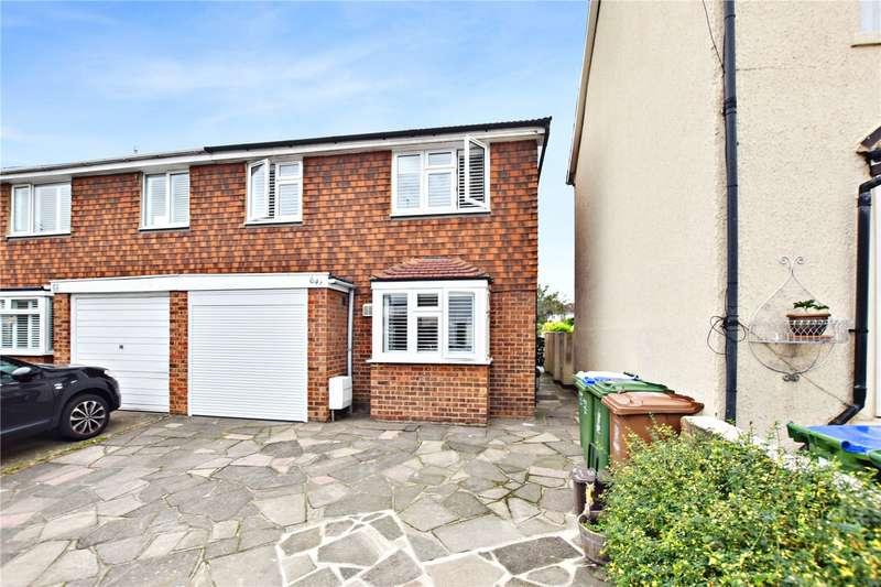 4 Bedrooms Semi Detached House for sale in Albert Road, Bexley Village, Kent, DA5