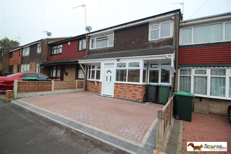 3 Bedrooms Terraced House for rent in Woodstock Close, Walsall