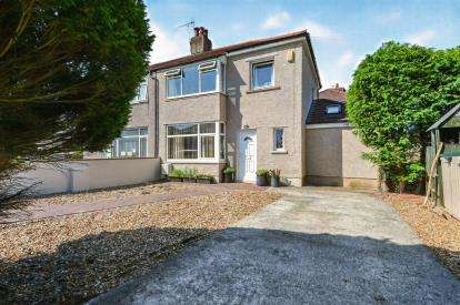 3 Bedrooms Semi Detached House for sale in Lowlands Road, Morecambe, Lancashire, United Kingdom, LA4