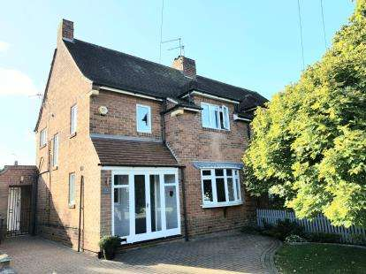 3 Bedrooms Semi Detached House for sale in Lutterell Way, West Bridgford, Nottingham