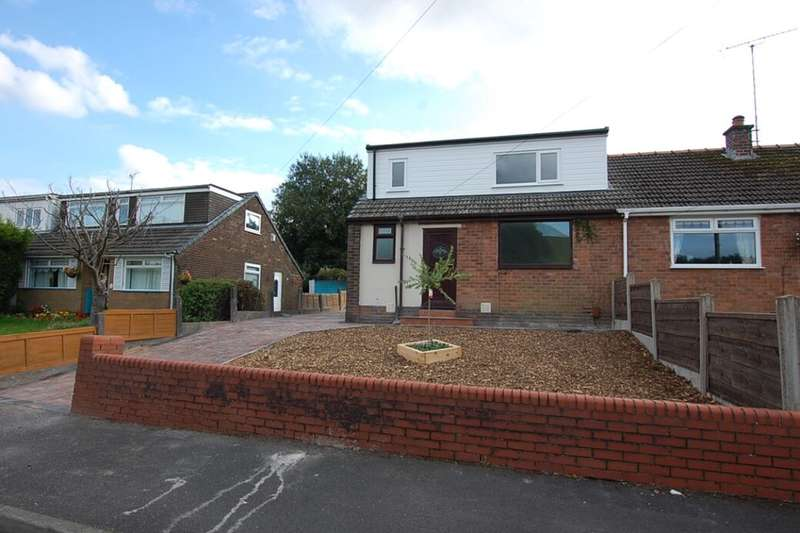 3 Bedrooms Semi Detached Bungalow for sale in Great Meadow, Shaw, Oldham, OL2
