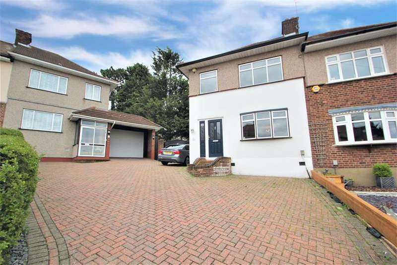 3 Bedrooms Semi Detached House for sale in Ravenswood Close, Collier Row , Essex, RM5 2UD