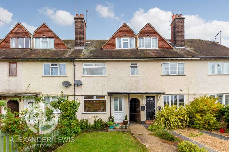 3 Bedrooms Terraced House for sale in Glebe Road, Letchworth Garden City, SG6 1DU