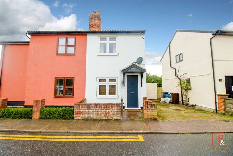 2 Bedrooms Semi Detached House for sale in Nayland Road, Mile End, Colchester, CO4