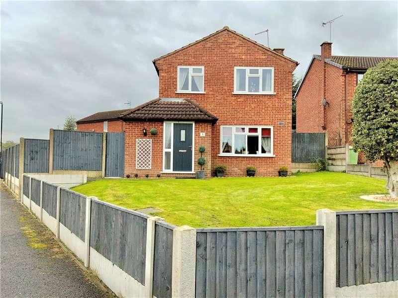 3 Bedrooms Detached House for sale in Laburnum Close, South Normanton, Alfreton, Derbyshire, DE55
