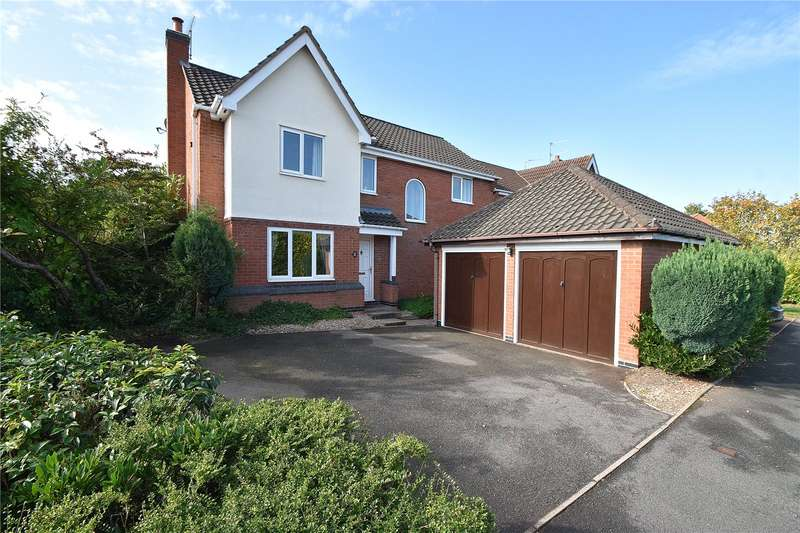 4 Bedrooms Detached House for sale in Knotts Avenue, Lyppard Kettleby, Worcester, Worcestershire