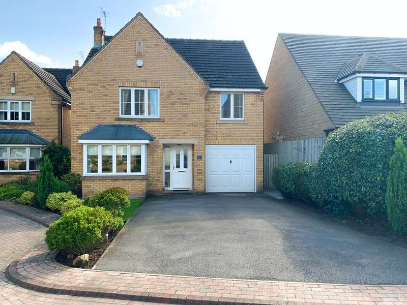 4 Bedrooms Detached House for sale in Harlech Fold, Sheffield, South Yorkshire, S10