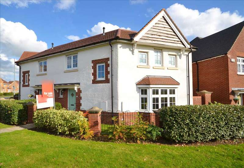 3 Bedrooms Semi Detached House for sale in Central Avenue, Buckshaw Village, Chorley